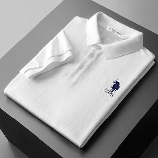 U.S. POLO ASSN. 美国马球协会 610210136100 男士短袖POLO衫