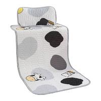 婴儿凉席夏幼儿园午睡冰丝席透气吸汗夏季可用乳胶宝宝儿童婴儿床