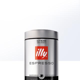 illy 意利  意式深度烘焙咖啡粉 250g