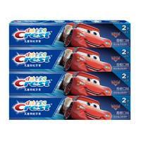 Crest 佳洁士 阶段型儿童牙膏 汽车总动员款 香橙味 40g*4