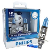 PHILIPS 飞利浦 新银战士系列 H1 升级型 汽车卤素灯 2支装