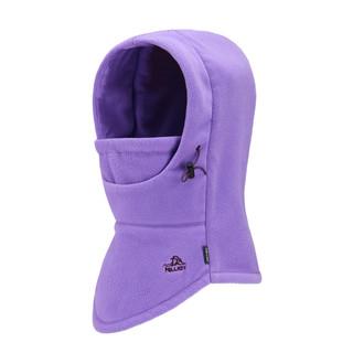 伯希和户外加厚防寒抓绒帽子冬季保暖围巾防风围脖骑行滑雪护耳帽