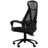 Hbada 黑白调 悠悦系列 人体工学电脑椅 黑色 无脚托款