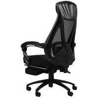 16日0点:HBADA 黑白调 HDNY077BMJ 人体工学电脑椅 带脚托 黑色