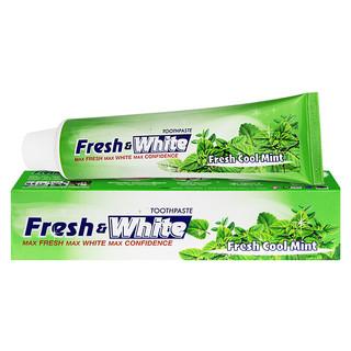 日本LION White亮白牙膏(清新薄荷)清新口气脱渍护龈160g(泰国原产进口)