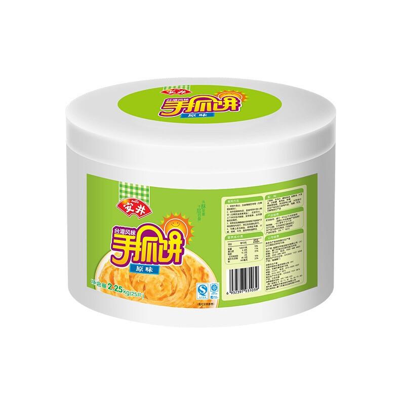 Anjoy 安井 手抓饼 原味 2.25kg 桶装