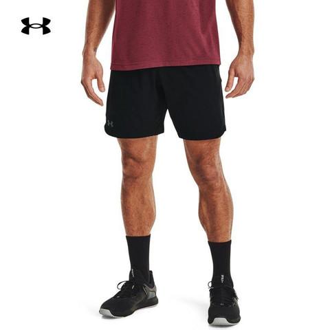 UNDER ARMOUR 安德玛 安德玛官方UA Elevated 2.0男子梭织训练运动短裤1362289 黑色001 L