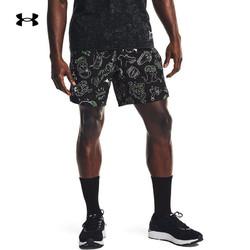 UNDER ARMOUR 安德玛 安德玛官方UA 男子7英寸跑步运动短裤1361496 黑色001 L