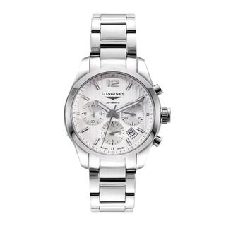 LONGINES 浪琴 浪琴康铂系列 日期计时码表功能 日内瓦纹路 男士机械手表