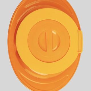 THINKBABY 辛克宝贝 儿童吸盘碗 橙色