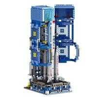 PLUS会员:AULDEY 奥迪双钻  HA389073长征五号运载火箭积木玩具(890pcs)