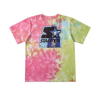 STARTER 米原康正联名男女同款图案艺术圆领短袖T恤 彩色 S