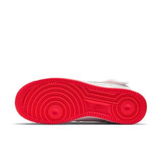 Nike 耐克官方AIR FORCE 1 HIGH '07 男子运动鞋新款复古CV1753(46、101白色/白色/赛车蓝)