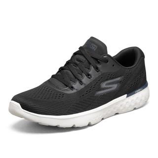 SKECHERS 斯凯奇 Go Run 400 男子跑鞋 661017-BKBL 黑/白 41