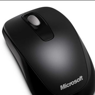 Microsoft 微软 1000 2.4G无线鼠标 1000DPI 黑色