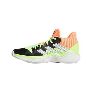 adidas 阿迪达斯 Harden Stepback 男子篮球鞋 EF9890 标志绿/1号黑色/珊瑚粉/亮白 44