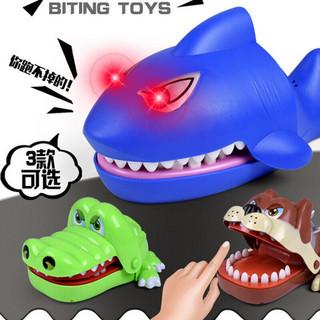 贝利雅 大号抖音同款咬手鳄鱼咬人玩具创意减压电动玩具