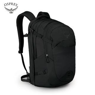 OSPREY 星云电脑包 城市休闲运动双肩包 户外徒步旅行背包NEBULA 黑色34L