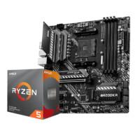 AMD R5 5600X 搭 微星 B550M MORTAR 迫击炮 主板CPU套装