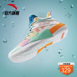 ANTA 安踏 安踏要疯4进击2汤普森实战篮球鞋男鞋官网旗舰2021新款男士运动鞋