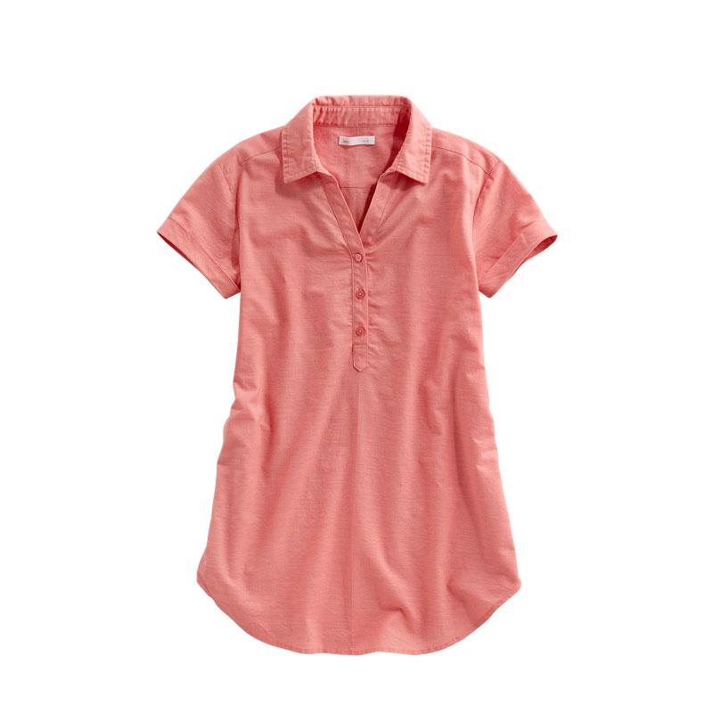lativ 诚衣 46947 女士半袖衬衫