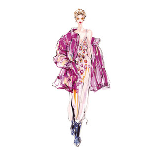 服装设计效果图手绘教程(全彩)