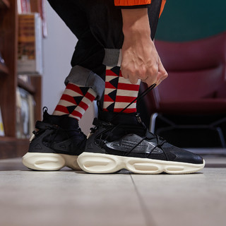 ANTA 安踏 安踏男款运动休闲鞋时尚中帮潮流男鞋百搭户外男士休闲鞋
