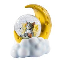 SOAP STUDIO 猫和老鼠月亮芝士水晶球创意潮玩生日节日礼物礼品