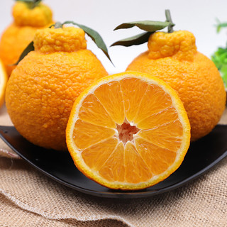 盒马 四川不知火丑橘净重3斤单果75mm+当季新鲜水果脆甜 三斤