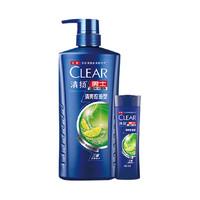 CLEAR 清扬 清爽控油型男士去屑洗发露 720g+100g