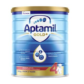 Aptamil 爱他美 金装版 儿童奶粉 澳版 4段 900g*2罐