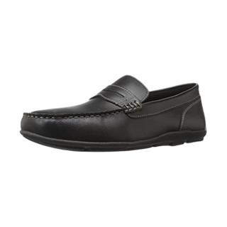 TOMMY HILFIGER 汤米·希尔费格 damien Penny 男士乐福鞋 黑色 39.5
