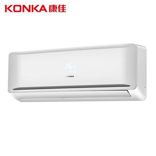 康佳(KONKA)1匹 新能效 定频 单冷 快速制冷 一键节能 壁挂式卧室空调挂机 KF-25GW/M5
