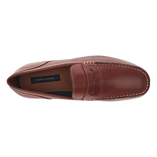 TOMMY HILFIGER 汤米·希尔费格 damien Penny 男士乐福鞋 Cognac 42