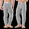 VIEKUCOOL 男士保暖打底裤 VK002 加绒款 2条装 灰色 XL