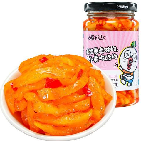 吉香居 暴下饭嘎嘣脆萝卜条 榨菜佐餐下饭菜萝卜干 甜辣味250g