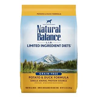 临期品 : Natural Balance 天衡宝 天然鸡肉无谷配方成犬粮 4.5磅