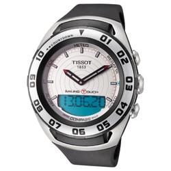 TISSOT 天梭 Sailing Touch 系列 T056.420.27.031.00 男款触屏腕表