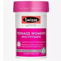 11日0点、黑卡会员:Swisse 斯维诗 女性青少年复合维生素 60片