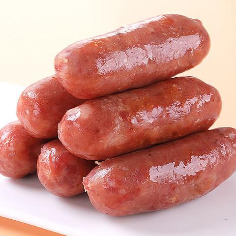 易睿兹 火山石烤肠纯肉肠原味 10支特惠装