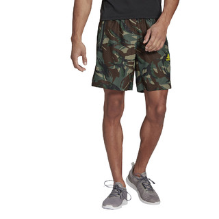 adidas 阿迪达斯 短裤男裤2021夏季新款宽松透气运动裤五分裤