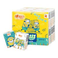 心相印  小黄人系列 手帕纸 4层6片18包