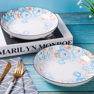 豪然 景德镇日式陶瓷创意餐具套装碗盘饭碗餐碗碟碗筷套装家用组合