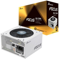 SEASONIC 海韵  FOCUS GX750 White白色限定版 金牌全模组电源 750W