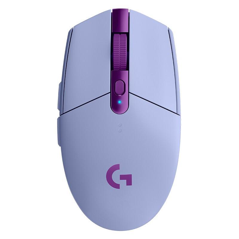 10日0点 : logitech 罗技 G304 LIGHTSPEED 无线鼠标 淡紫色