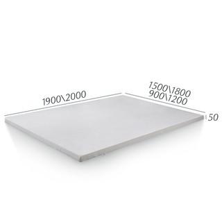 DeRUCCI 慕思 慕思抑菌防螨天然乳胶垫 榻榻米垫子可折叠床垫1.8m席梦思薄垫5cm