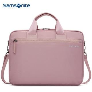 PLUS会员 : Samsonite 新秀丽 单肩包 苹果MacBook air电脑包