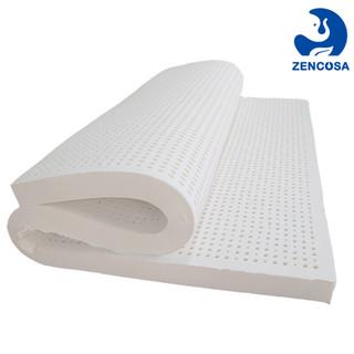 ZENCOSA 最科睡 zencosa泰国进口天然乳胶床垫 0.9米*2米 褥子榻榻米双人床垫子可定制(含内外套) 900*2000*50mm