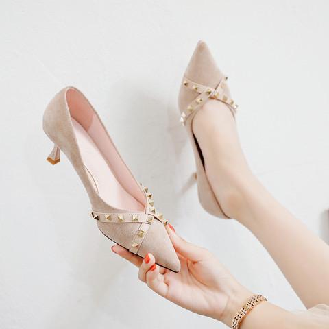 RED DRAGONFLY 红蜻蜓 H032016032063 女士尖头单鞋