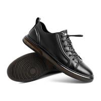 BeLLE 百丽  16301AM1 男士商务休闲鞋